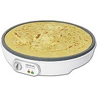 Cecotec Fun Crepestone crepemaker. RockStone non-stick-beläggning, justerbar temperaturregulator, 30,5 cm diameter…