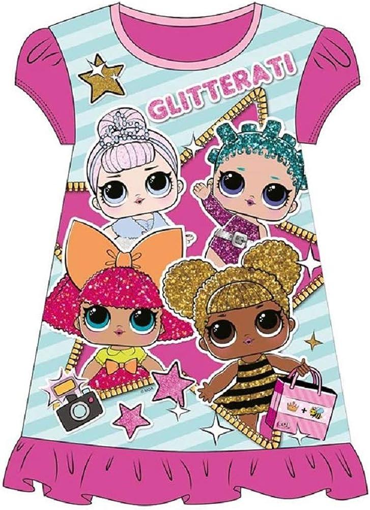 The Pyjama Party Girls LOL Suprise Night Dress Nighty Nightie Pink Dress Pagent Theme