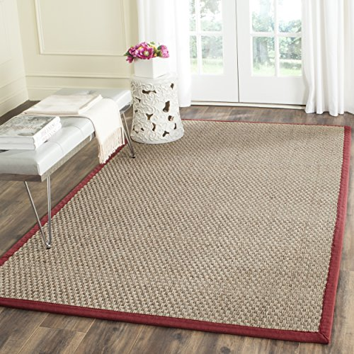 Safavieh Natural Fiber Collection NF114D Basketweave Natural