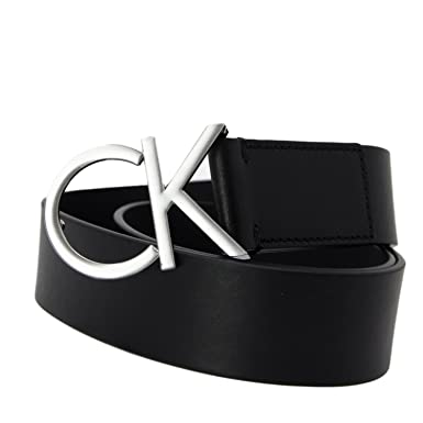 CALVIN KLEIN WOMEN BELT CK LOGO BELT 3.5 CM K60K602141  Amazon.co.uk ... d3df5bc1176
