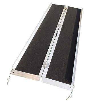 Amazon.com: Kepooman Rampa plegable portátil antideslizante ...