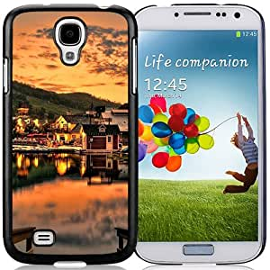 Beautiful Sunset Over The Lake Hard Plastic Samsung Galaxy S4 I9500 Protective Phone Case
