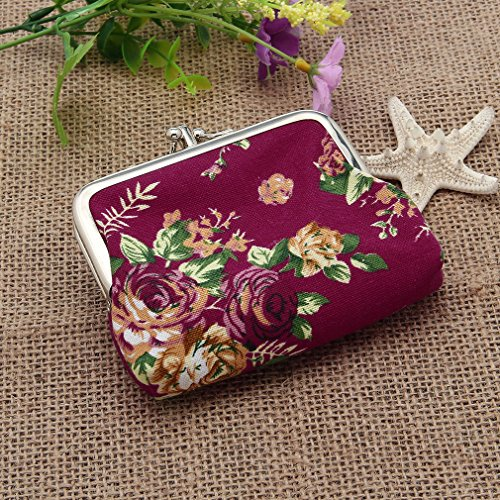 Change model Pattern Model Floral sol V Woman Elegant Wallet Purse And 85Kw1wq4