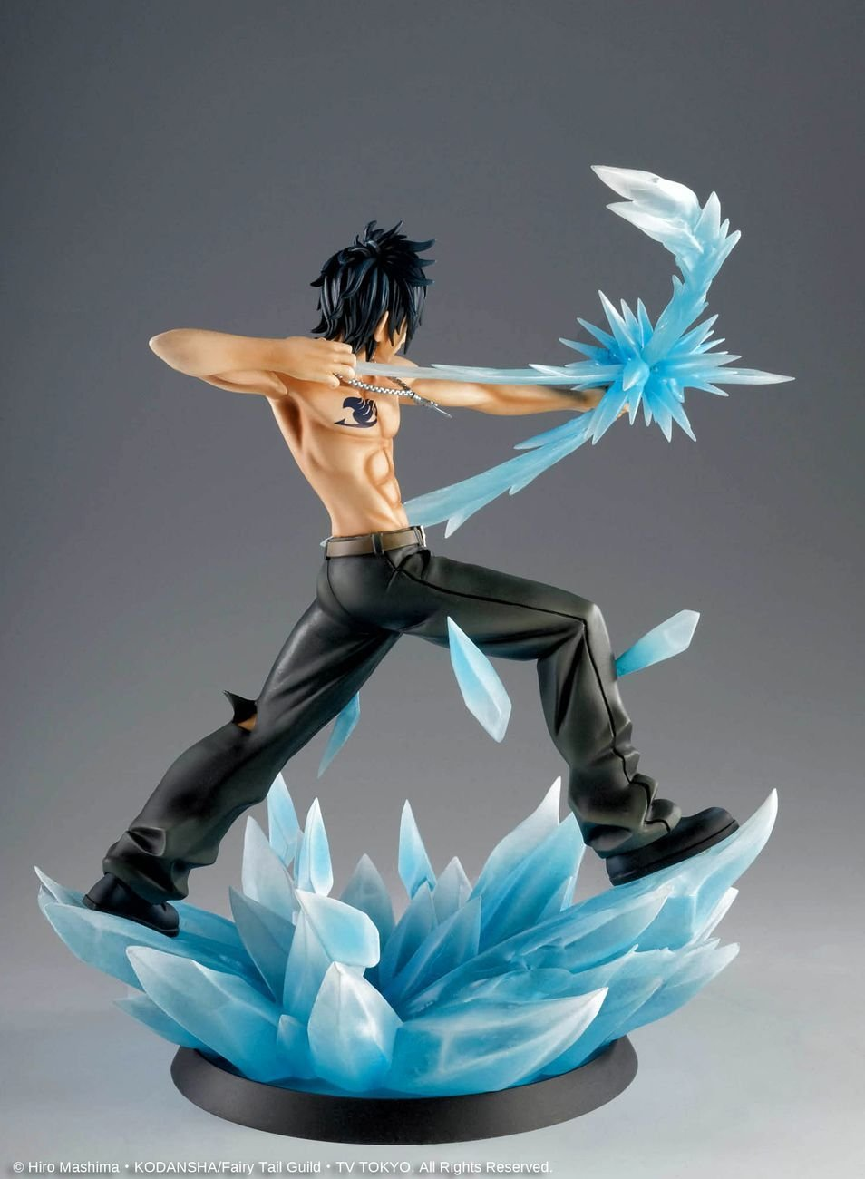 Fairy Tail Tsume HQF High Quality 1 8 Limited Figur Statue Gray Fullbuster 285 Cm Amazonde Games