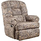 Offex Big and Tall 350 lb. Capacity Camouflaged Encore Conceal Brown Fabric Rocker Recliner [OF-AM-9930-1355-GG]
