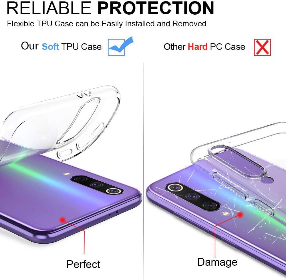 Oihxse Funda Compatible con Huawei P Smart Plus 2019 A4 Carcasa Transparente TPU Silicona Gel Ultra Fina Suave Protecci/ón Flexible Lindo Dibujos Anti-rasgu/ños Caso Cubierta