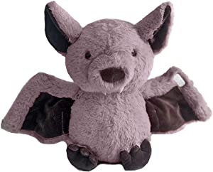 Rainlin Plush Bat Stuffed Animal Bashful Toys Furry Gifts for Kids Plum 11 inches