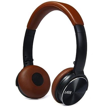 lker una original sonido plegable auriculares con micro para smartphone PC portátil Tablet