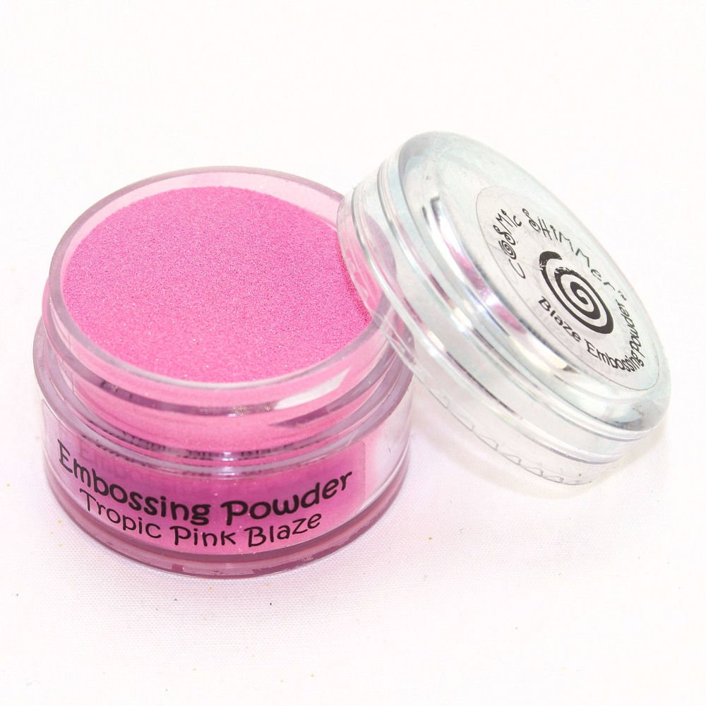 Cosmic Shimmer Blaze Empossing Powder, Tropic Pink Creative Expressions CSEPTROPIN