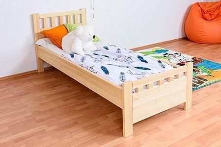 Individual/cama madera maciza de pino de madera 68, con ...