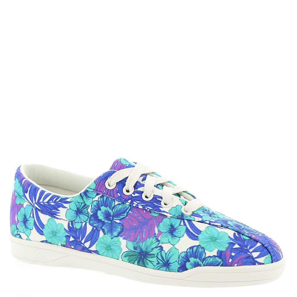 Easy Spirit AP2 Women's Oxford 9 B(M) US Blue-Multi-Floral