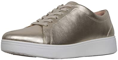 b514e43e447f FitFlop™ Womens Rally™ Leather Sneakers