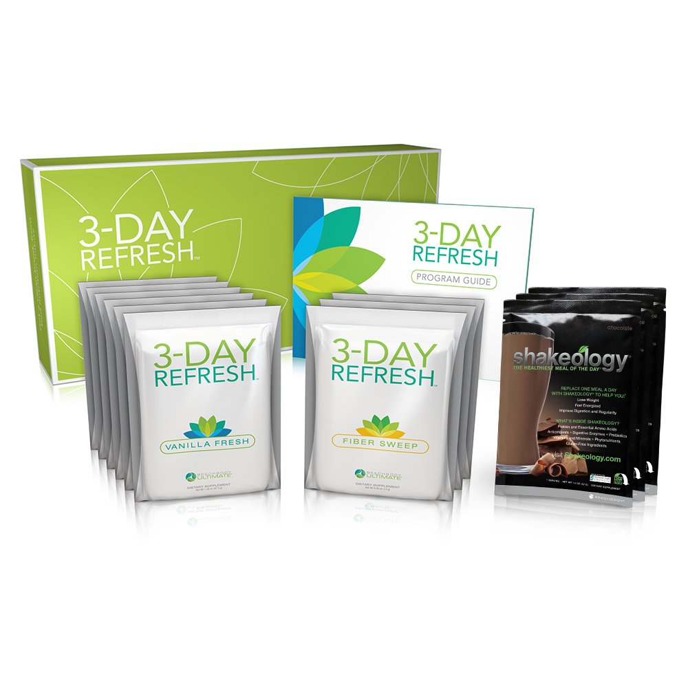 Chocolate - Beachbody 3 Day Refresh with Shakeology | Alternative to Liquid Fasts | Superfood-Packed