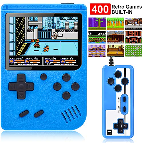 Retro Mini Game Player with 400 Classical Games
