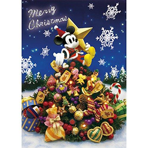 Disney Mickey and Christmas Tree 3D Lenticular Greeting Card / Christmas 3D (Disney Christmas Cards)