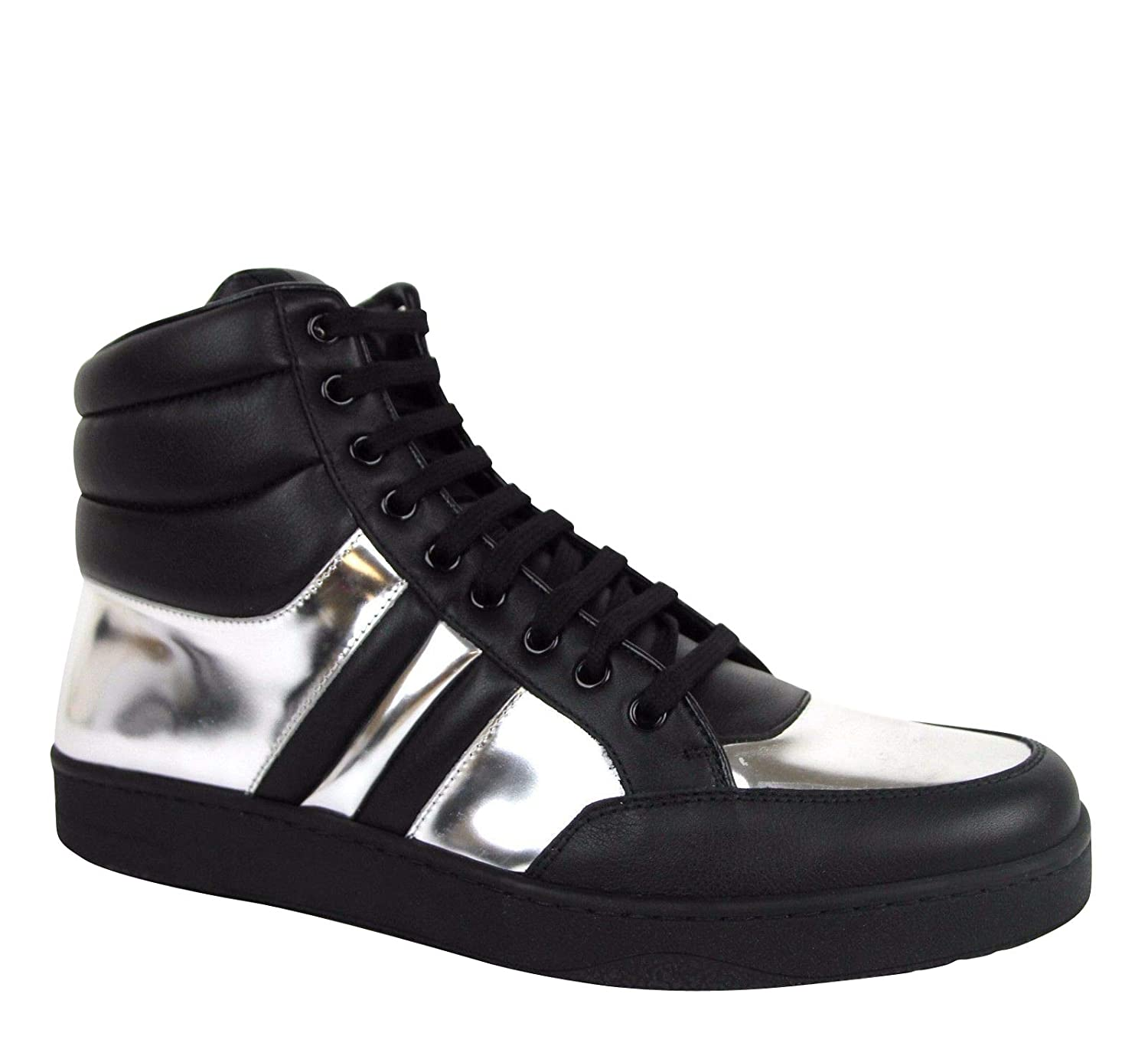 43d380323e9 Amazon.com  Gucci High top Contrast Padded Leather Sneaker 368494  Shoes