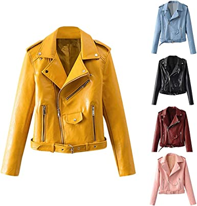 acheter une veste en cuir femme pas cher