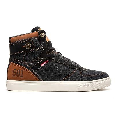 Levi's Jeffrey Men's Hightop Fashion Sneakers Shoes   Fashion Sneakers