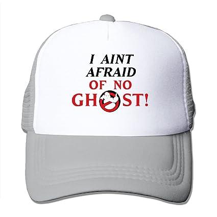 774f8b23ae6 Amazon.com  Mieba No Ghost Mesh Hat Hiphop Trucker Snapback Cap Ash ...