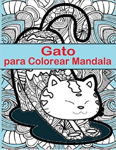 Gato Para Colorear Mandala: Gato Para Colorear Mandala es un ...