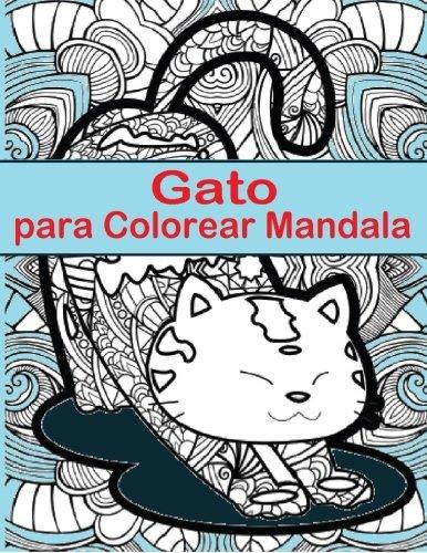 Gato Para Colorear Mandala Gato Para Colorear Mandala Es Un Libro