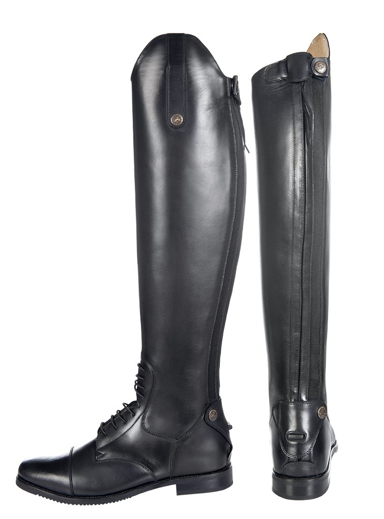 HKM Sports Equipment -Granada-, HKM Reitstiefel -Granada-, Equipment Kurz Standardweite, Schwarz, 36 e756aa