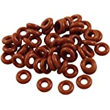 Sterling Seal ORSIL475x100 Number 475 Standard Silicone O-Ring Excellent Resistance to Oxygen Vinyl Methyl Silicone Ozone and Sunlight Pack of 100 26 ID 26-1//2 OD Pack of 100 26 ID 26-1//2 OD Sur-Seal Inc. 70 Durometer Hardness