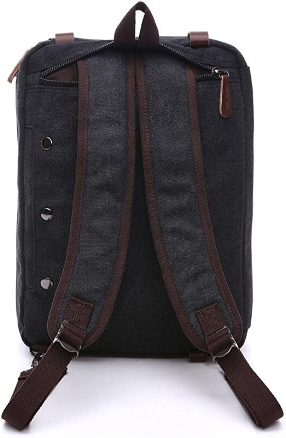 XibeiTrade Mens Large Canvas Travel Tote Luggage Weekender Duffle Bag