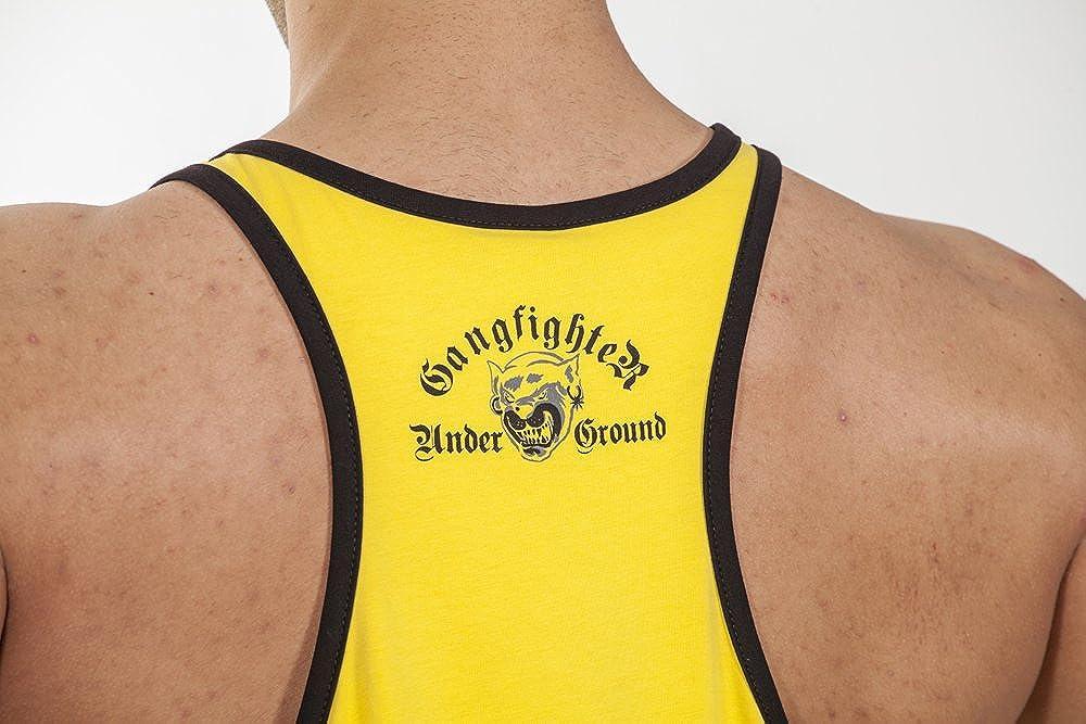 BIG SAM SPORTSWEAR COMPANY Bodybuilding Mens Muscleshirt Tanktop T-Back Tee Tank Stringer 2219