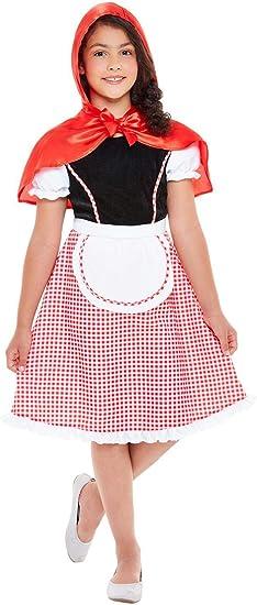 Smiffys 47755L - Disfraz de Caperucita Roja para Niñas: Amazon.es ...