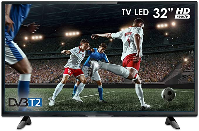 Televisor Smart Tech TV LED Compatible con HD, 32 Pulgadas, LE32D11TS DVB T/2: Amazon.es: Electrónica
