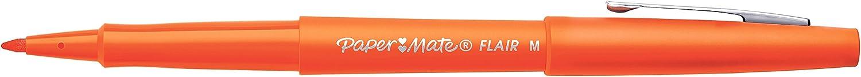 Paper Mate Flair Original Fibre Tip Pen Medium 1.0mm Pack of 4