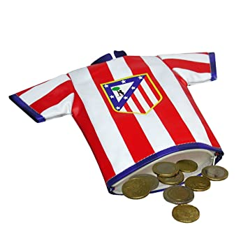 Amazon.com: Atlético de Madrid Coin Purse, multicoloured ...