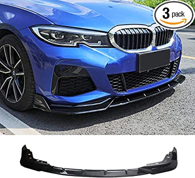 YOUNGERCAR Front Bumper Lip For 2014-2019 BMW 4 Series F32 F33 F36 M-Performance Style Performance Style Front Lip Lower Lip Splitter Gloss Black