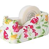 VIBRANZ-LAB Cute Tape Dispenser Desk Home Office Desk Supplies Fun Desk Accessories Floral Office Tape Dispensers Cute…