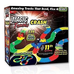 New! As Seen On TV 220 Piece Magic Tracks Crash Set