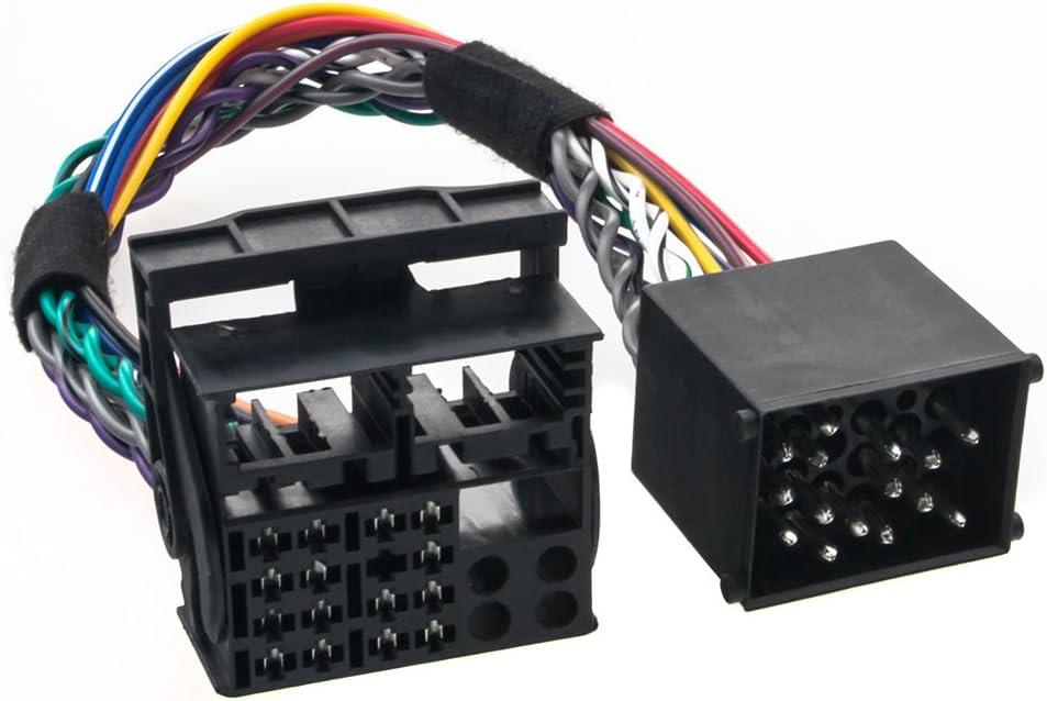 Radioanschlusskabel Umrüst Adapter Für Bmw Runde Pins Bm24 Auf Flache Pins Bm54 Elektronik