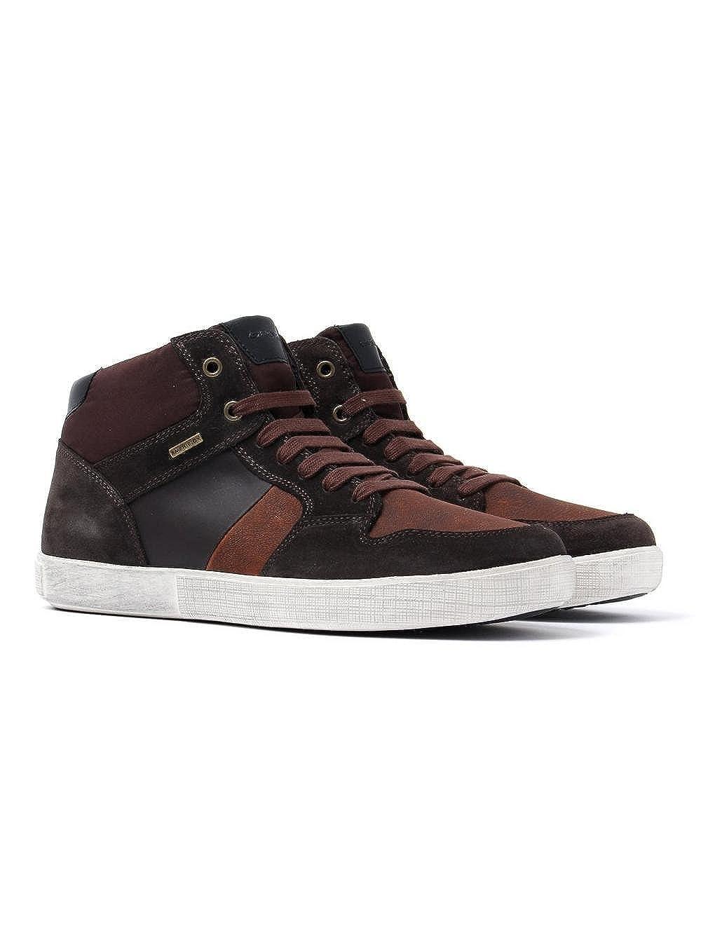TALLA 44 EU. Zapato GEOX U741UA 020FU C61T7J Marron