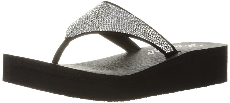2aecd281794e Skechers Cali Women s Vinyasa Bindu Flip Flop  Amazon.ca  Shoes   Handbags