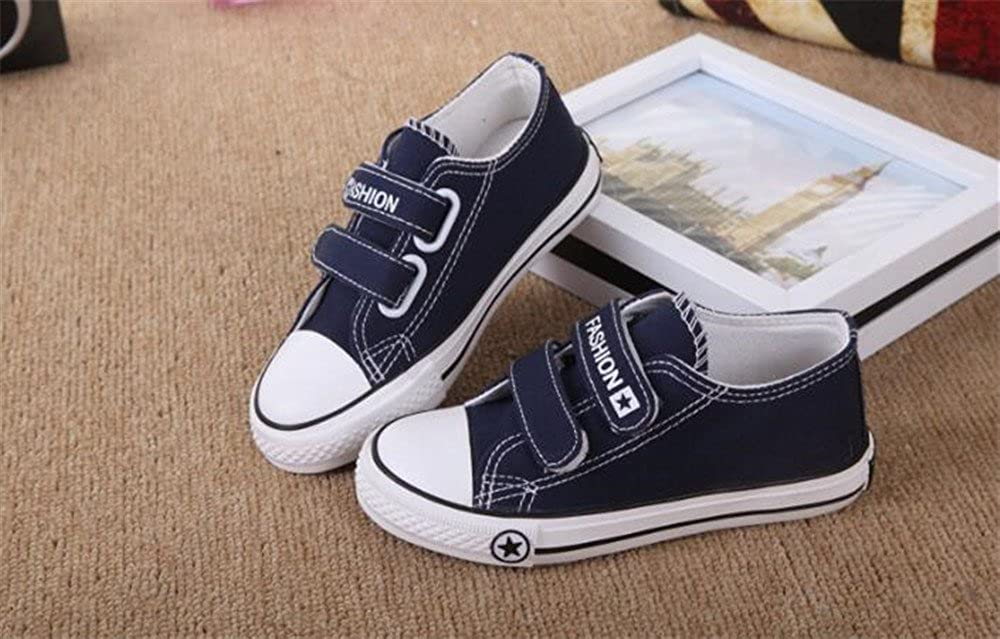 Cute Toddler Sneakers Boys Girls Casual Canvas Shoes Outdoor School Sneakers
