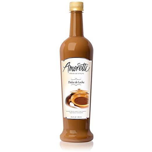 Amazon.com : Amoretti Premium Syrup, Dulce De Leche, 25.4 Ounce : Maple Syrups : Grocery & Gourmet Food