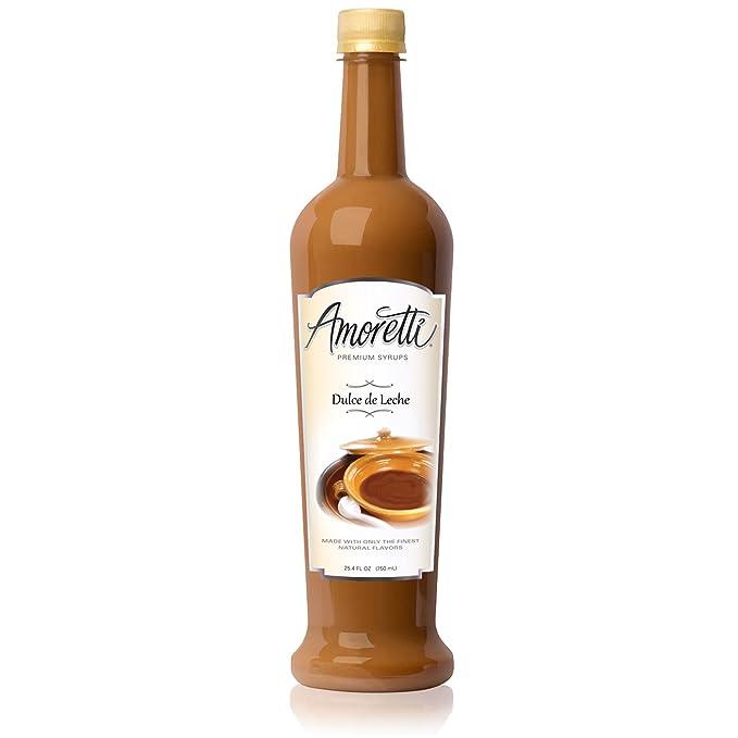 Amoretti Premium Syrup, Dulce De Leche, 25.4 Ounce