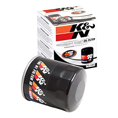 K&N Premium Oil Filter: Designed to Protect your Engine: Fits Select FORD/SUZUKI/TOYOTA/VOLKSWAGEN Vehicle Models (See Product Description for Full List of Compatible Vehicles), PS-1002: Automotive