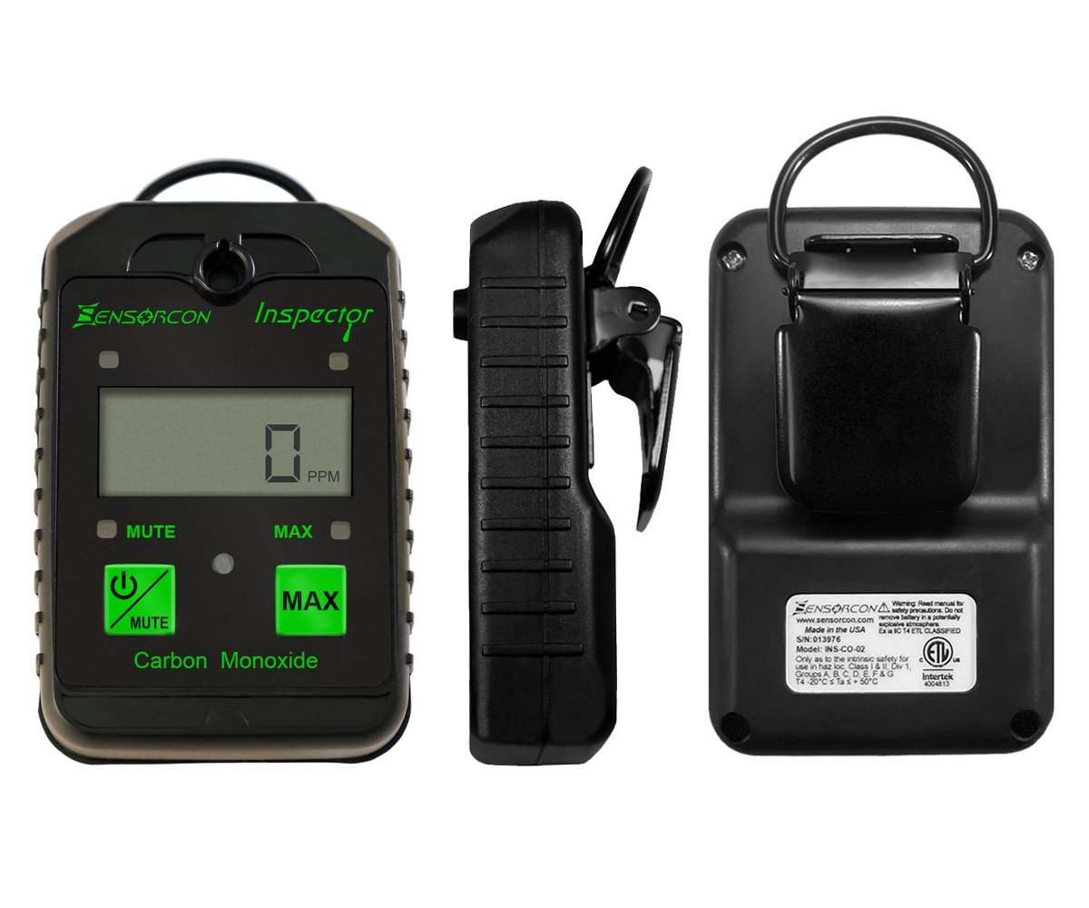 Carbon Monoxide Inspector Detector – Portable and Handheld – Great for HVAC,Travel and Home Use CO Inspector