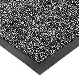 Notrax Non-Absorbent Fiber 231 Prelude Entrance Mat, for Outdoor and Heavy Traffic Areas, 3\' Width x 6\' Length x 1/4\