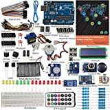 Electronics Teens Best Deals - SunFounder Starter Kit From Knowing to Utilizing for Arduino Uno R3 Mega Nano Circuit Board Jumper Wires Sensors Breadboard Electronics V2.0