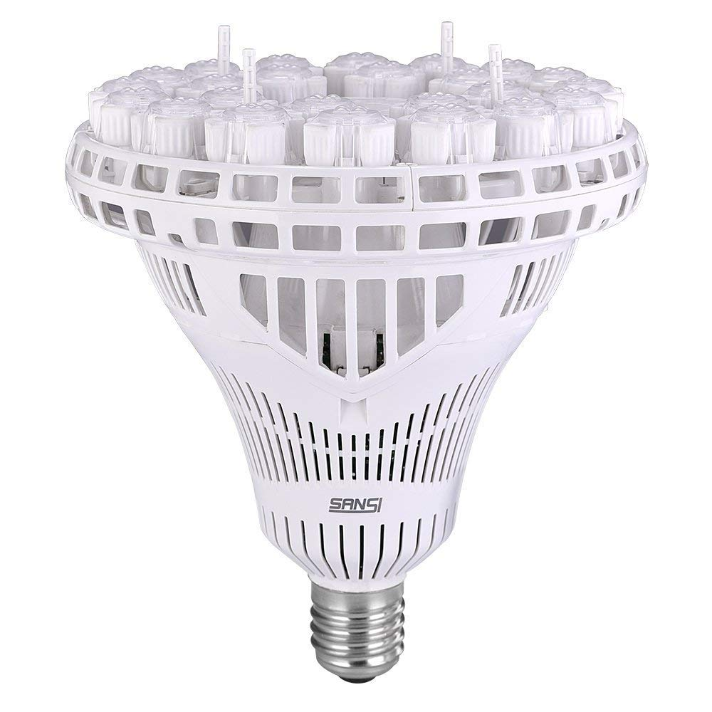 SANSI 100W(700 Watt Equivalent) LED High Bay Light, 5000K Daylight, 10000 lumens, Non-Dimmable, CRI 80, E39 Base, Bulb for Church Garage Warehouse Barn Patio Supermarket Restaurant Logistic Center