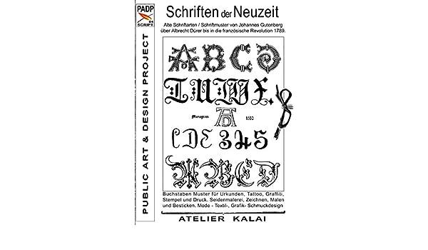 Amazon Com Padp Script 004 Schriften Der Neuzeit Alte
