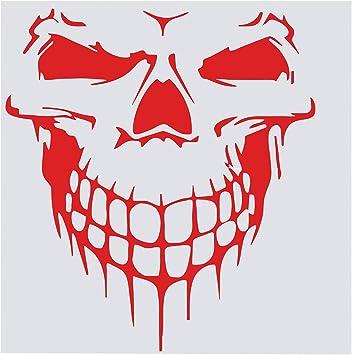 vinyle sticker autocollant tête de mort 5