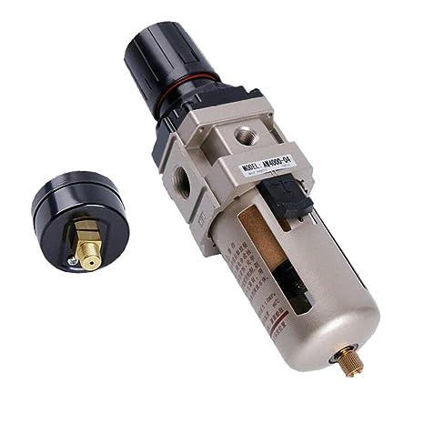MagiDeal AW4000-04 1/2 Regulador Filtro de Aire Compresor Manómetro Presión